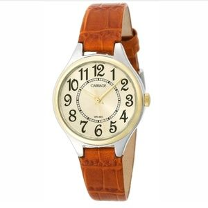 Carriage by Timex Women's Two-Tone Analog Watch